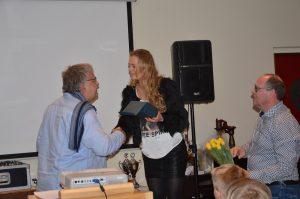 felicitaties voor Mariska Huisman