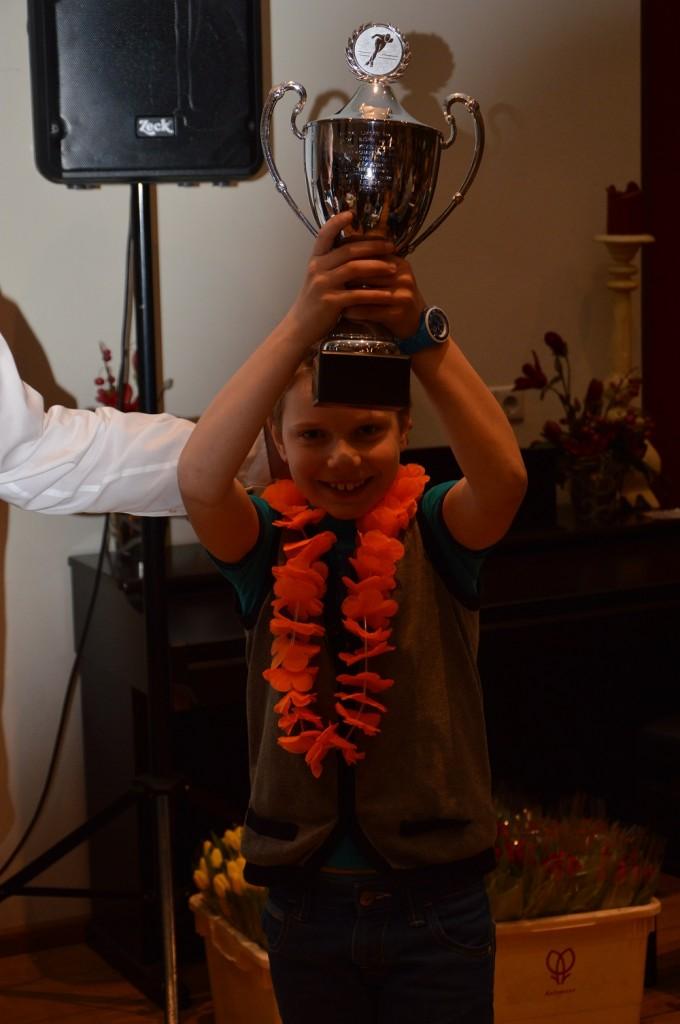 Floris Duijn Wint Progressiebokaal 2014-2015