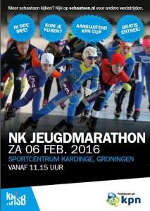 jeugd marathon poster